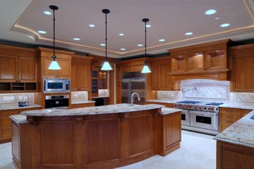 Indoor lighting installation, rewiring, and design